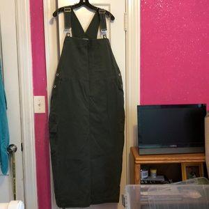 NWOT Carolina Blues Overall Dress